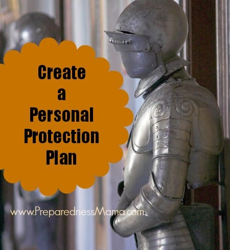 create a personal protection plan