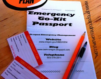 The Family Emergency Plan will keep your family safe in the event of an emergency. It's the first step | PreparednessMama