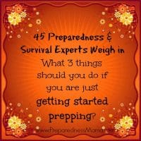 Getting Started Prepping | PreparednessMama