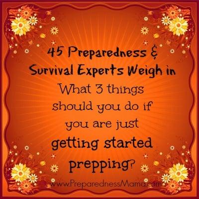 Getting Started Prepping | PreparednessMama