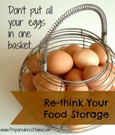 Re-think your food storage | PreparednessMama