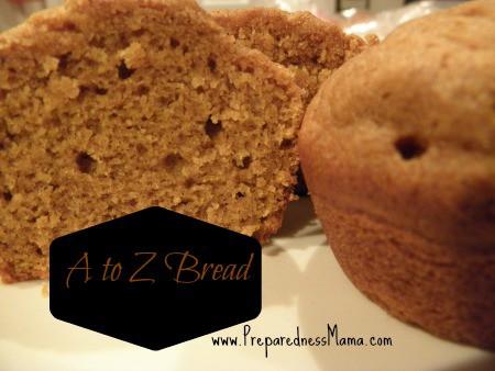 A to Z Bread | PreparednessMama