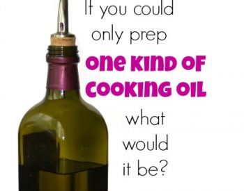 If you could only prep one kind of cooking oil...Cooking fat storage | PreparednessMama