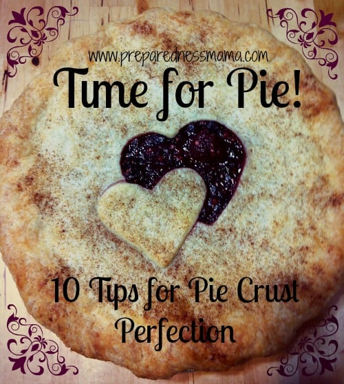 Time for PIE!!! – 10 Tips for a Perfect Pie Crust