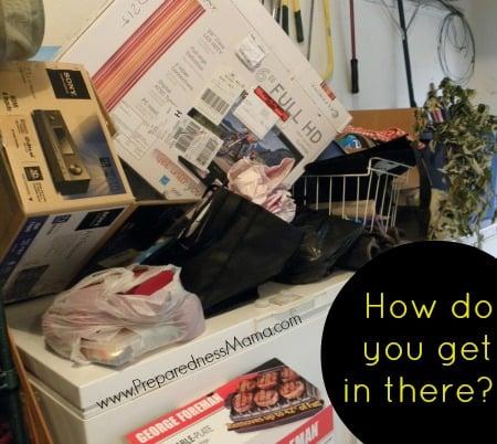 Chest freezer organization - How do you get in there? PreparednessMama