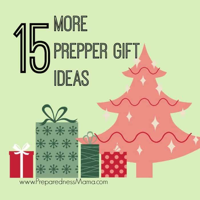 Rock the Sock – 15 MORE Preparedness Gift Ideas
