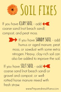 Use these soil fixes to help while planning a garden| PreparednessMama