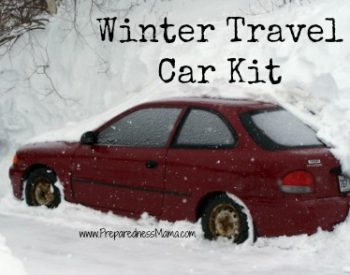 Make sure you have a winter travel car kit | PreparednessMama