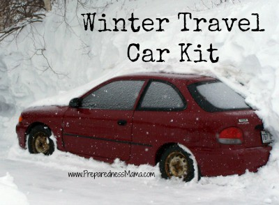 Winter Travel Car Kit – Don't Leave Home Without It