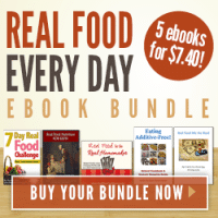 Real food for every day e-book bundle | PreparednessMama