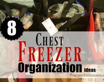 8 Family Friendly Chest Freezer Organization Ideas | PreparednessMama