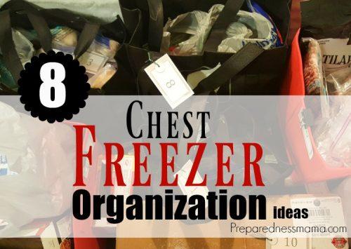 8 Family Friendly Chest Freezer Organization Ideas   PreparednessMama