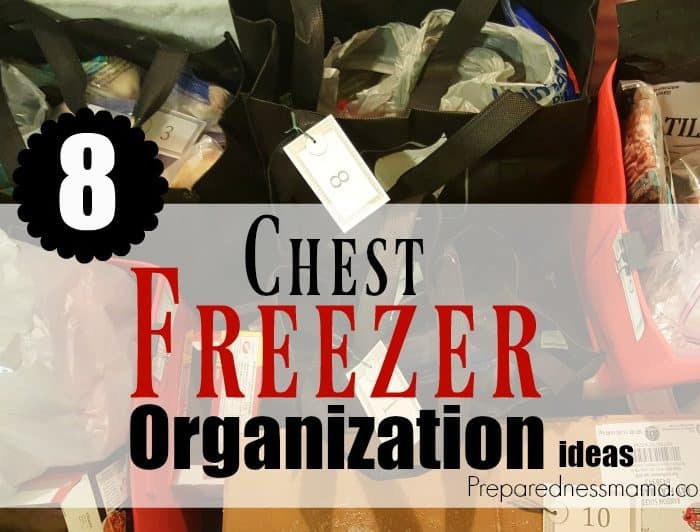8 Chest Freezer Organization Ideas