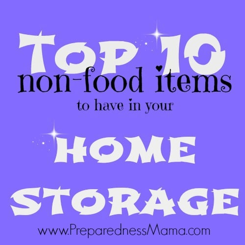 Top 10 Non-food Items to Have in Home Storage