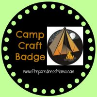 Preparedness in the 1954 Girl Scout Handbook - Earn the Camp Craft Badge | PreparednessMama