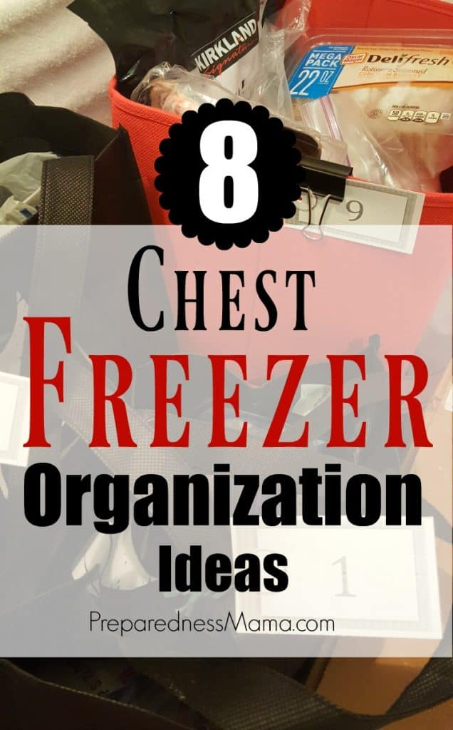 8 Family Friendly Chest Freezer Organization Ideas | PreparednessMama
