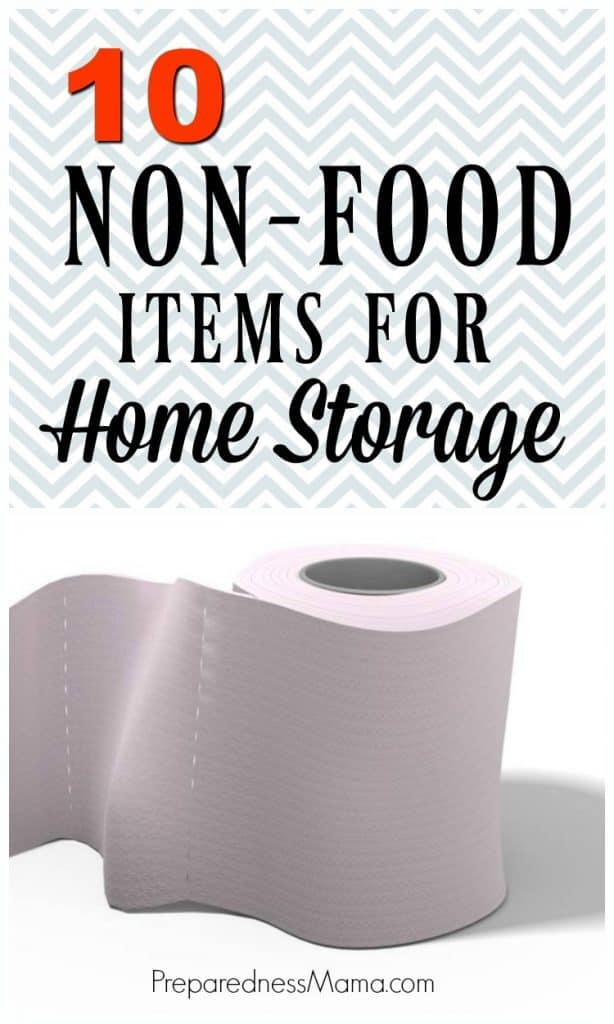 You can never be too prepared. Identify the home storage items your family does not want to be caught without. Here's a top 10 list to get you started | PreparednessMama
