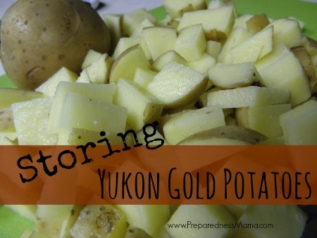 Storing Yukon Gold Potatoes