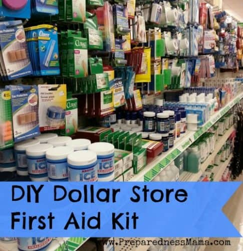 DIY Dollar Store First Aid Kit | PreparednessMama