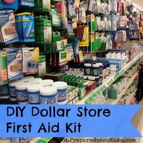 DIY Dollar Store First Aid Kit | PreparednessMama