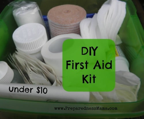 Diy dollar store first aid kit preparednessmama make a diy dollar store first aid kit for under 10 preparednessmama fandeluxe Image collections