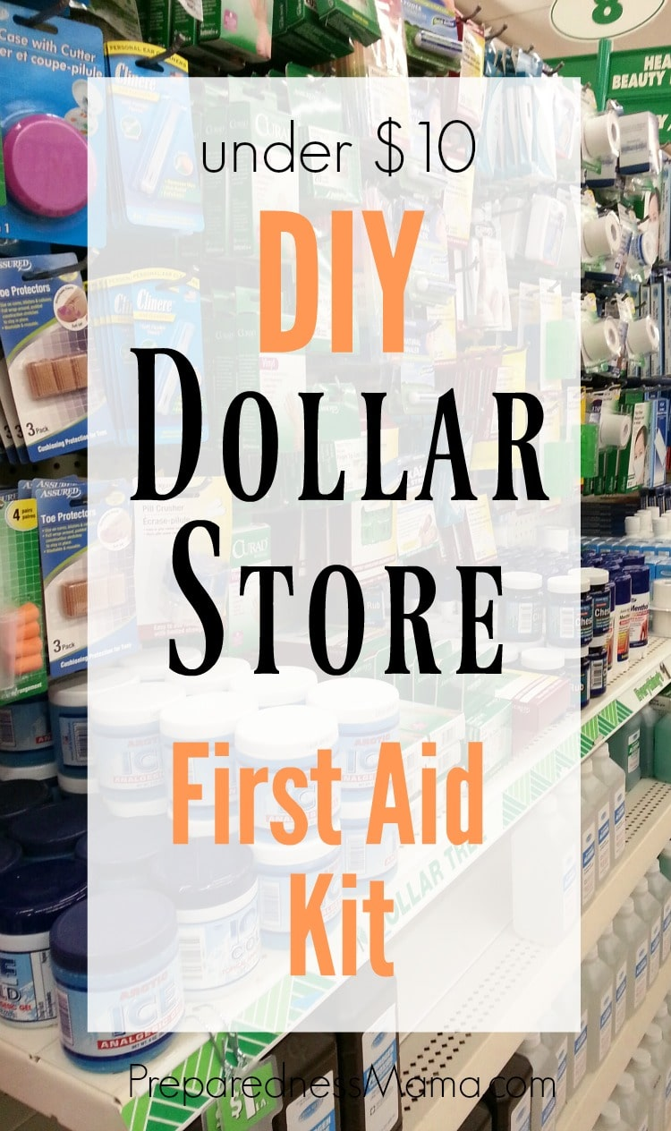Diy dollar store first aid kit preparednessmama fandeluxe Gallery