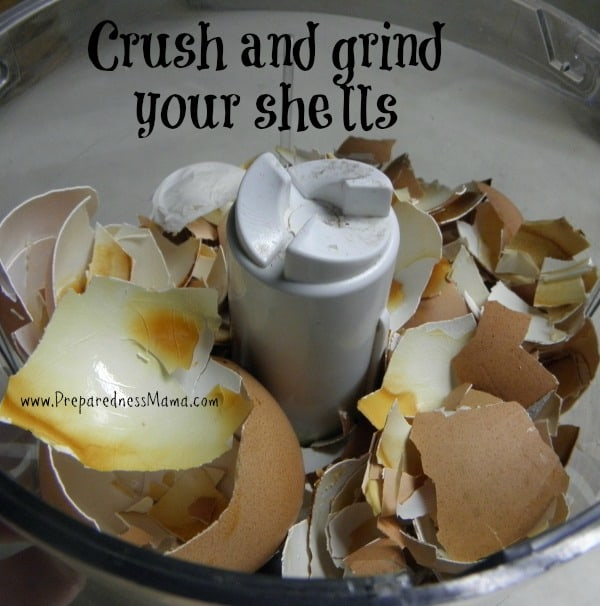 13 Ways to Use Eggshells Around the Home and Garden. First crush and grind eggshells for storage | PreparednessMama