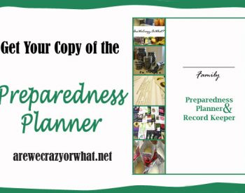 I'm using The Preparedness Planner to finally get hy home storage organized | PreparednessMama