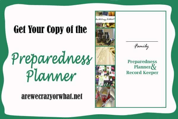 I'm using The Preparedness Planner to finally get hy home storage organized | PreparednessMama