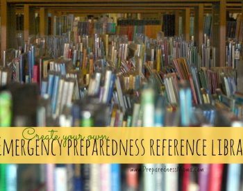 Create your reference library for the recommendations in the Garden Depot | PreparednessMama