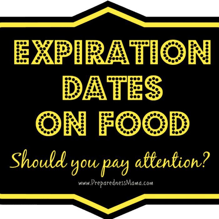 Expiration Dates on Food Storage- Know When to Throw