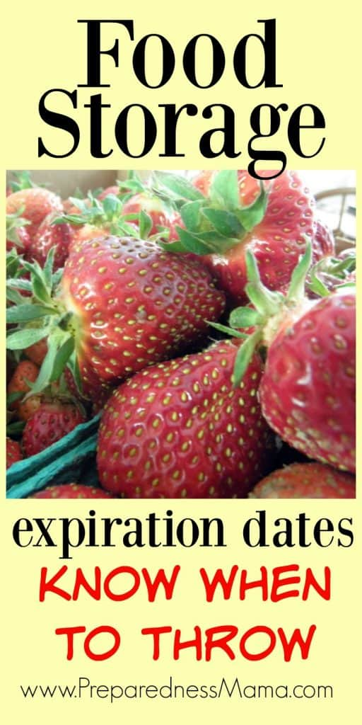 Food storage expiration dates can be tricky. Do you know when to throw? | PreparednessMama