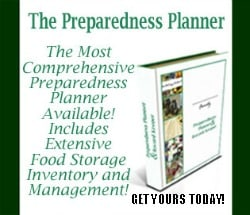 Get The Preparedness Planner and finally get your home storage organized | PreparednessMama