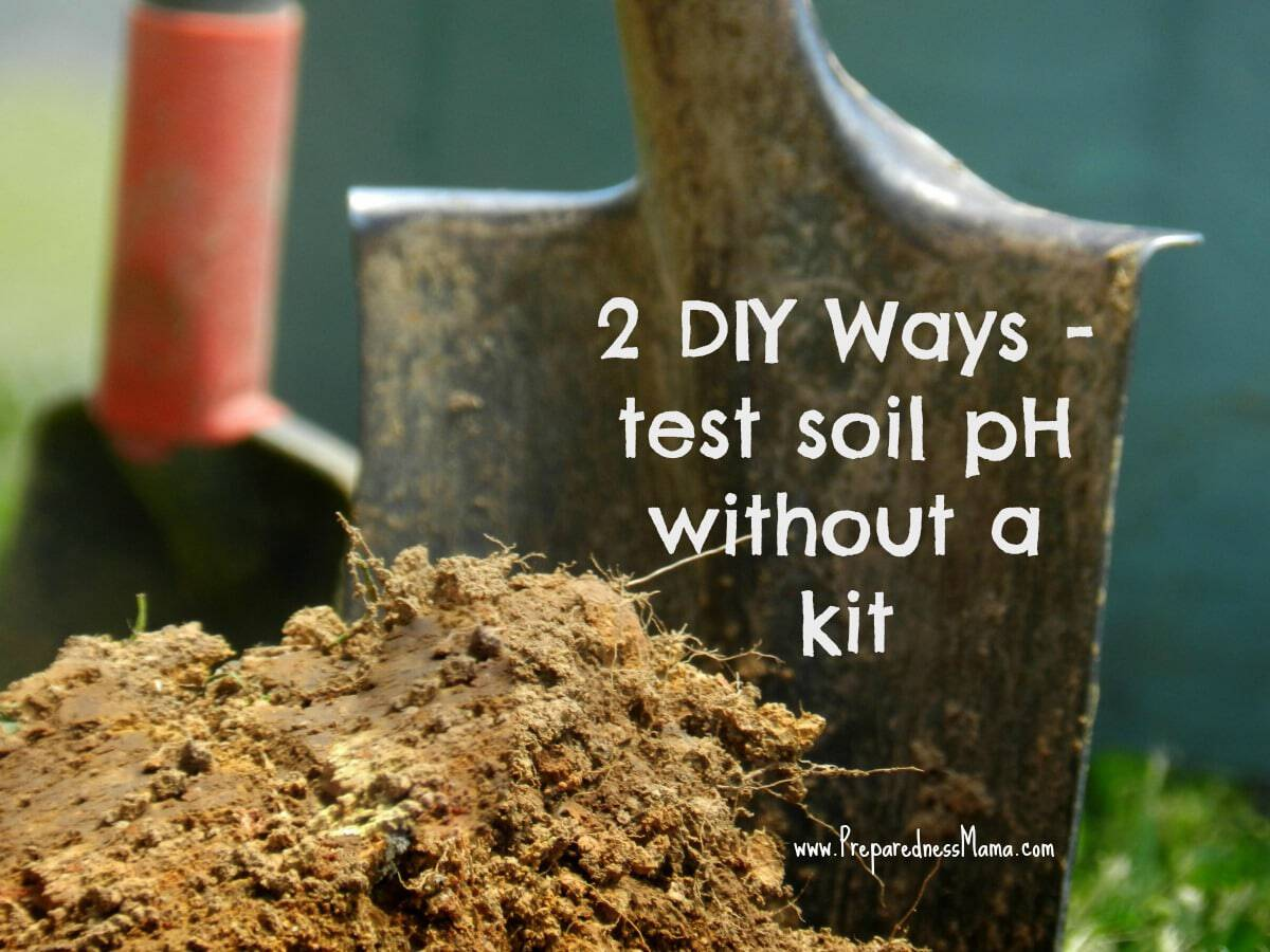 Garden home kit ph tester - 2 Diy Ways For Testing Soil Ph Without A Kit Preparednessmama
