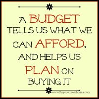 The benefits of a monthly budget | PreparednessMama