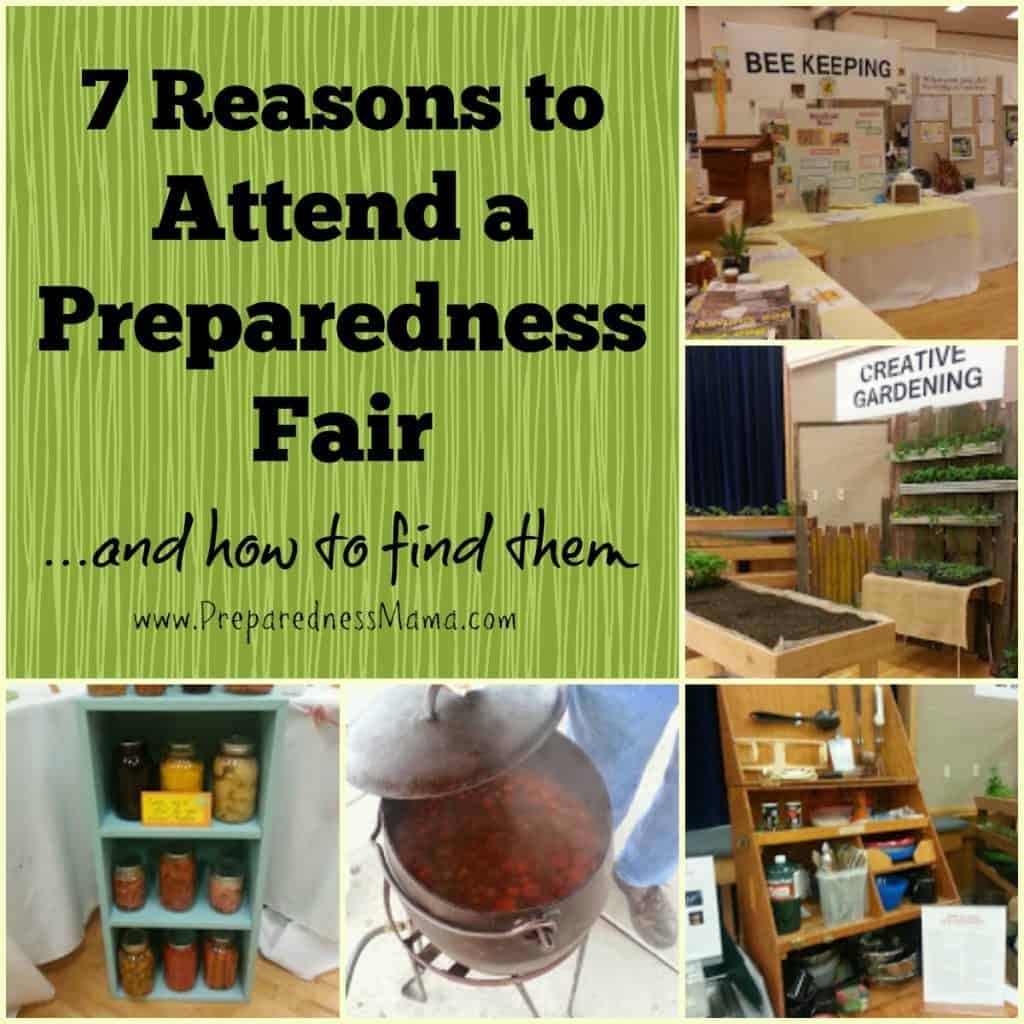 7 Reasons to attend a preparedness fair and how to find them | PreparednessMama