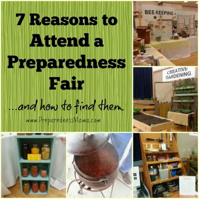 7 Reasons to Attend a Preparedness Fair