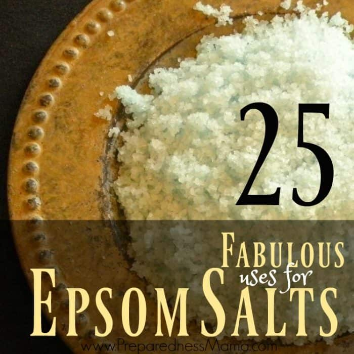 25 Uses for Epsom Salts