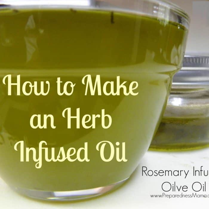 How to Make an Herb Infused Oil