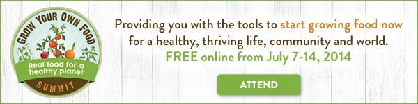 Grow Your Own Food Summit | PreparednessMama