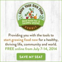 Grow Your Own Food Summit - sign up today | PreparednessMama