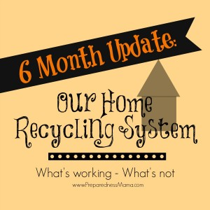 Home Recycling System 6 month update | PreparednessMama