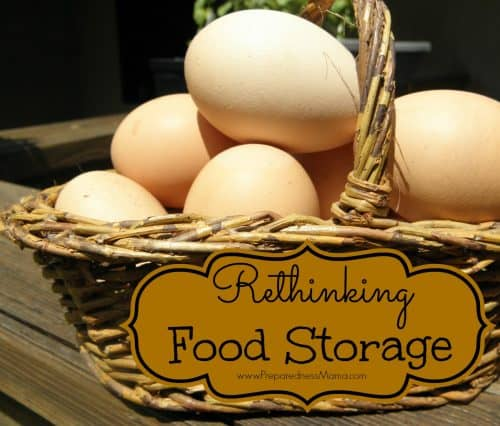 Rethinking food storage - The Law of 3's | PreparednessMama