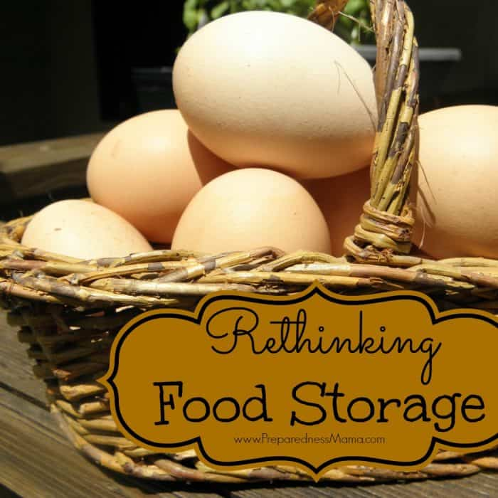Rethinking Food Storage – The Food Storage Law of 3's