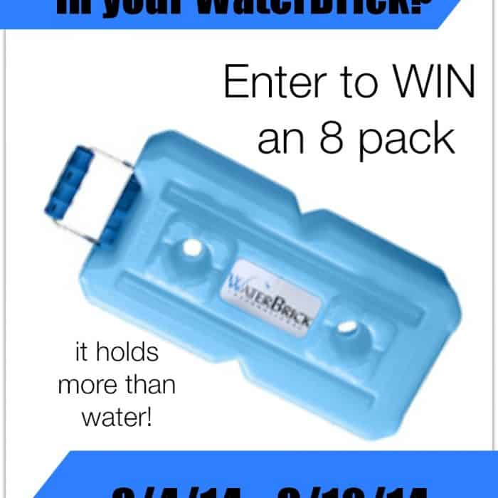 WaterBrick Containers Giveaway