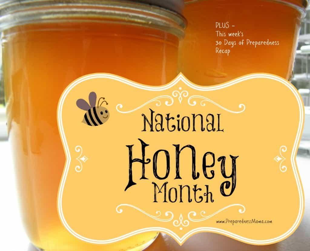 September is National Honey Month. Make honey onion syrup | PreparednessMama
