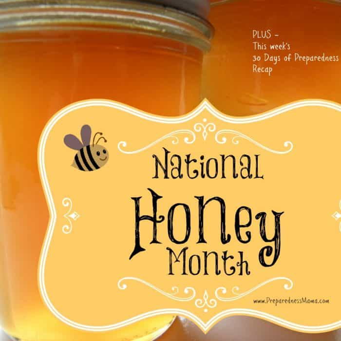 September is National Honey Month. Make honey onion syrup | PreparednessMama