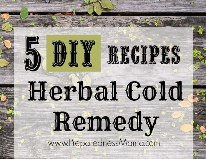 5 DIY Cold Remedy Recipes