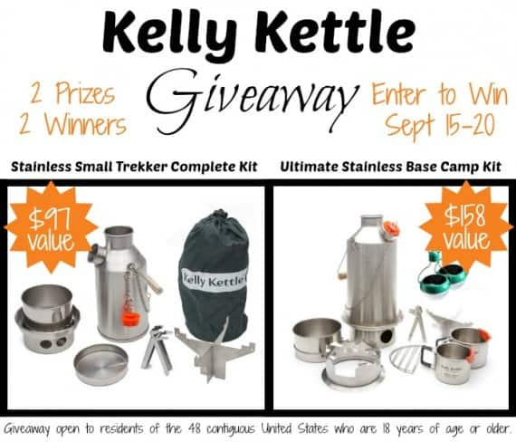 Kelly Kettle Group Giveaway