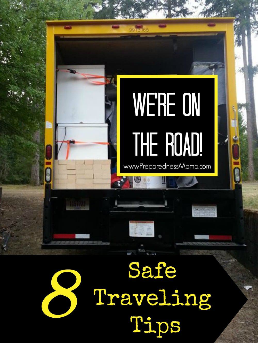 "8 ""On the Road"" Safe traveling tips 
